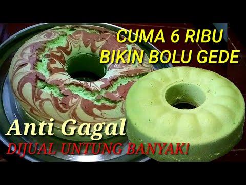 Wow Bolu Air cuma pake 1 Telur Mengembang Maksimal, dijual Untung Banyak!!