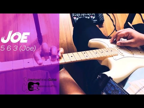 This is a tutorial for Joe - 5,6,3 Joe! This is a really fun guitar lesson so you should really tune in for this one!