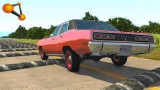 BeamNG.drive   Speed Bumps Chassis Test