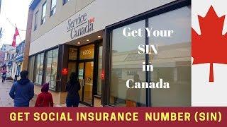 കാനഡ | Getting Your 'SIN' First Time from Service Canada | Social Insurance Number | Malayalam