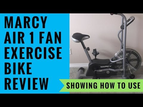 Best Fan Bike - Marcy Air 1 Fan Exercise Bike Review & Showing How To Use It