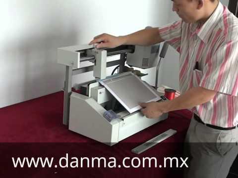 Encuadernadora DM-330 Pasta dura