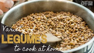 A Variety Of Legumes To Cook At Home