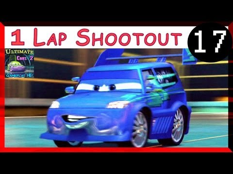 DJ Cars 2 The Video Game PS3 Hard Difficulty One Lap Shootout On Oil Rig Run Part 17