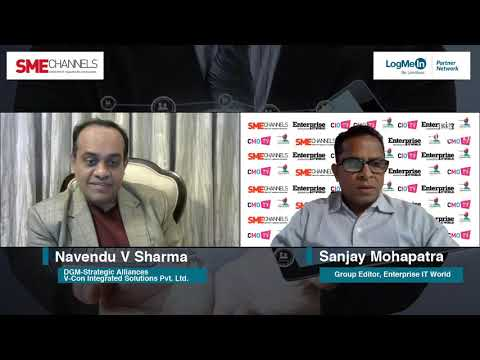 Navendu V Sharma, DGM-Strategic Alliances, V-Con Integrated Solutions Pvt. Ltd.