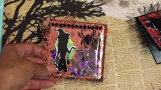 Handmade Halloween Cards & Mini Pocket Letter Halloween 2016