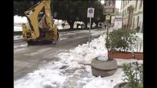 preview picture of video 'SCIACCA SOTTO LA NEVE...MAI COSI' BELLA'