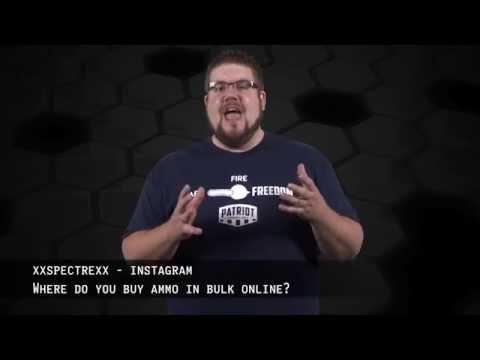 Video Where do you buy bulk ammo online? - #FriendlyFire!