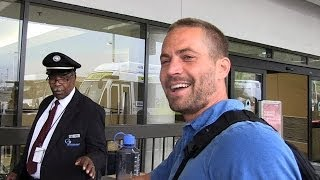 Paul Walker Dead: TMZ's Last Footage of the Actor | TMZ