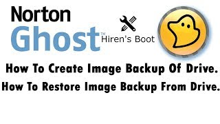 How To Create Image Backup of Partition in HDD using Norton Ghost | Hiren Boot | Urdu | Hindi