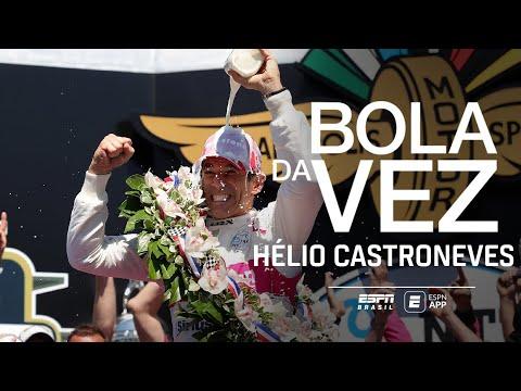 INDIANÁPOLIS E TUDO SOBRE A CARREIRA! Hélio Castroneves é o Bola da Vez (Programa Completo)