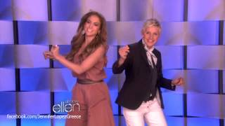 Jennifer Lopez on Ellen 16/1/13 - Trailer