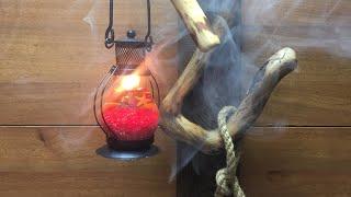 Новогодний светильник из дерева своими руками декор