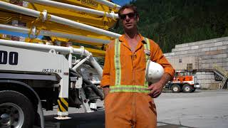 A Day in the Life of a Pump Truck Operator