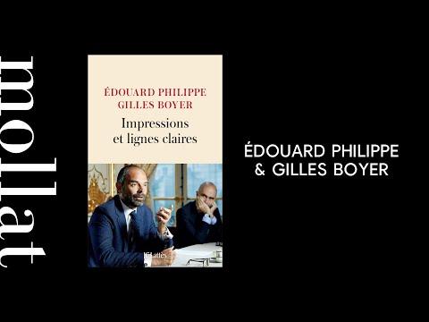 Édouard Philippe & Gilles Boyer - Impressions et lignes claires