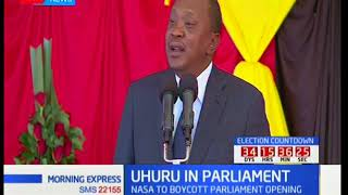 President Uhuru to address a joint sitting of the 12th parliament
