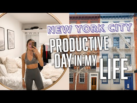Download PRODUCTIVE NEW YORK CITY DAY IN MY LIFE: working for myself + dealing with acne HD Mp4 3GP Video and MP3