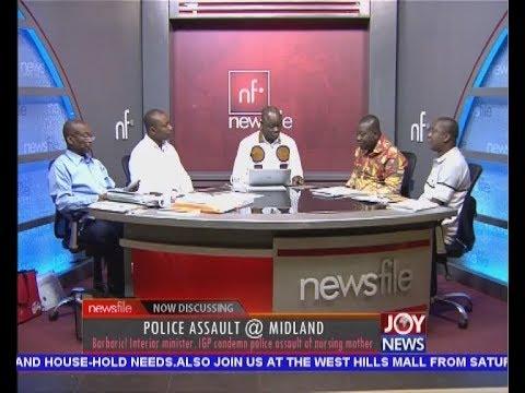 Police Assault @ Midland - Newsfile on JoyNews (21-7-18)
