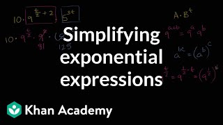 Simplifying An Exponential Expression