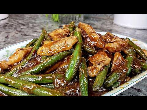 CHICKEN STIR FRY | Chicken And Green Bean Stir Fry Recipe | Cooking At Home