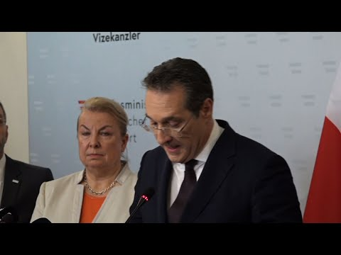 Austrian Vice Chancellor Heinz-Christian Strache resigned on Saturday after two German newspapers published footage of him apparently offering lucrative government contracts to a potential Russian benefactor. (May 18)