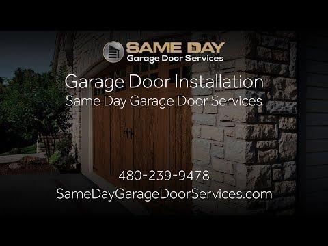 Garage Door Installation   Same Day Garage Door Services