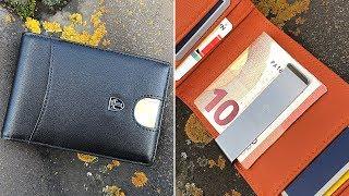 """KLASSISCH & SCHICK! Slim Wallet mit Geldklammer & RFID Schutz von TRAVANDO! Modell """"Rio"""" // DEUTSCH"""
