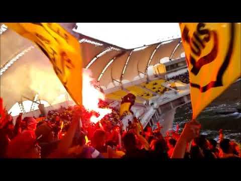 """Ultra Kanarios vs San Lorenzo"" Barra: Ultra Kanaria • Club: San Luis de Quillota"