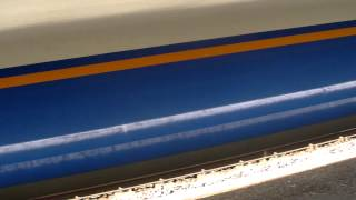 preview picture of video 'ZOOM just passing - A speedy class 444 blasting through Godalming'