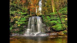 """Национальный парк """"Чикой"""". Водопад на реке Мельничная."""