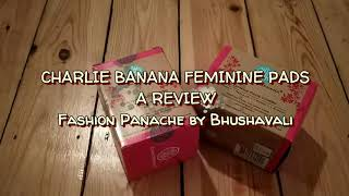 Charlie Banana Feminine Pads - A Review