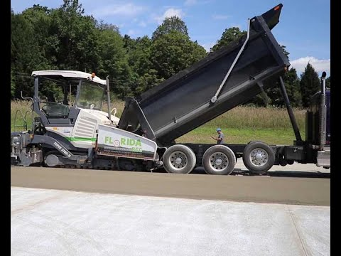 GasSearch Drilling Chooses Roller Compacted Concrete for Maintenance Facility Parking Area