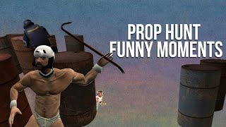 Big Trouble in Little Office & Mini the Angel - GMOD PROP HUNT FUNNY MOMENTS