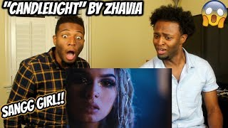 Zhavia   Candlelight (Official Video) (REACTION)
