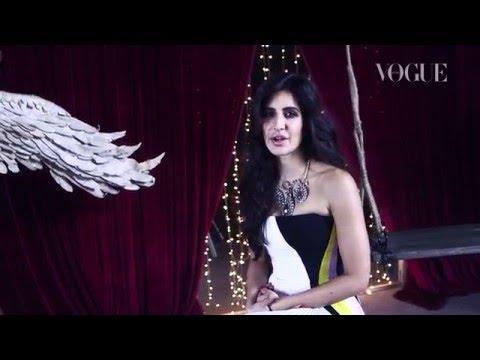 Katrina Kaif's December Cover Shoot Hits TV | Photoshoot Behind-the-Scenes | VOGUE India