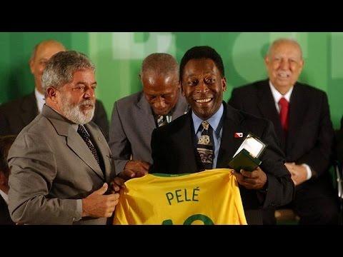 La légende Pelé au Nigeria