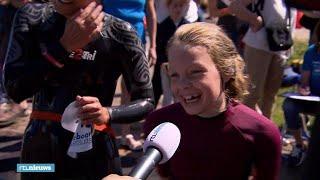 Deze mensen zwemmen mee met Maarten: 'Het is wel koud!' - RTL NIEUWS