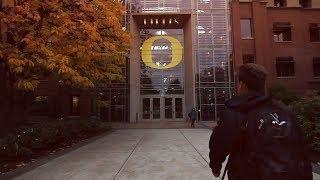 University of Oregon Campus Tour