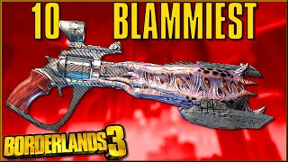 Top 10 BEST & BLAMMIEST Legendary Weapons in Borderlands 3 - Caedo's Countdowns