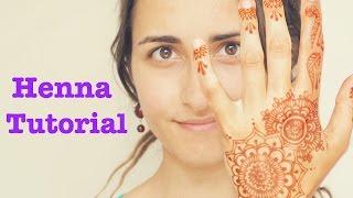 Tatuaje De Henna || Tutorial