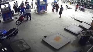 Sốc thuốc Cây xăng Văn Bàn - Lào Cai