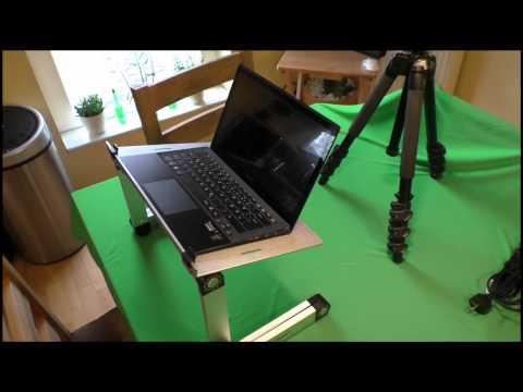 Lavolta - Notebook Tisch - Laptop Ständer - Klapptisch - Bett Tablett