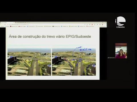 Trabalho, Adm. e Serviço Público - Construção de viaduto em bairro de Brasília – 15/10/2021