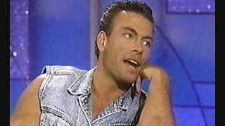 Van Damme on Arsenio Hall (Universal Soldier) Part 1