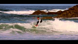 Warren Tuck Surfing Newquay Cornwall's Little Fistral