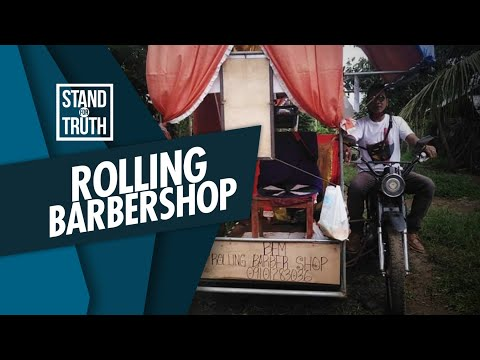 [GMA]  Stand for Truth: Rolling barbershop sa Palawan, silipin!