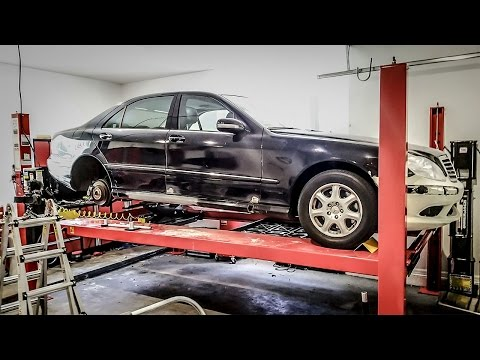 I Bought New Wheels...With One BIG Problem - Project Mercedes-Benz S-Class Pt 13