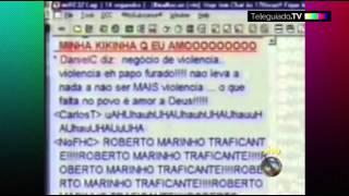 """Roberto Marinho é Chamado De Traficante Em """"Malhação"""""""