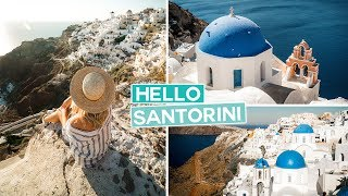 Ticking Off Our BIGGEST BUCKET LIST |  Santorini, Greece