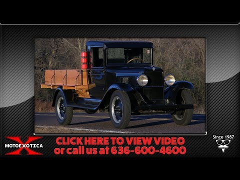 Video of 1930 Series LR 1 1/2-Ton Flatbed located in Missouri Offered by MotoeXotica Classic Cars - P1TW